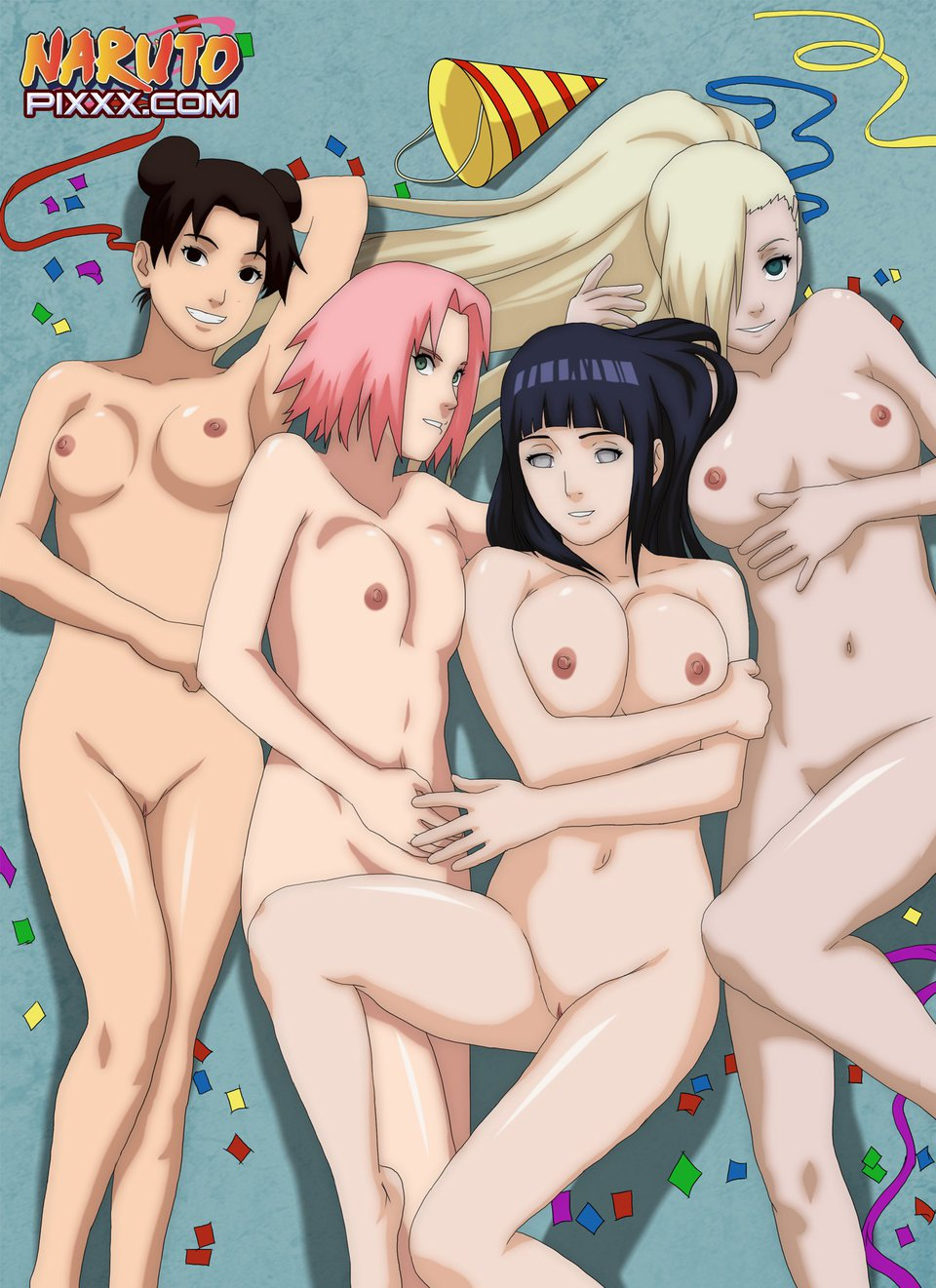 naruto hentai sakura and ino throughout showing porn images for hentai naruto ino sakura porn