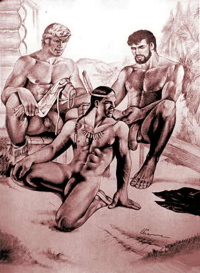 american porn cartoon indian Native gay