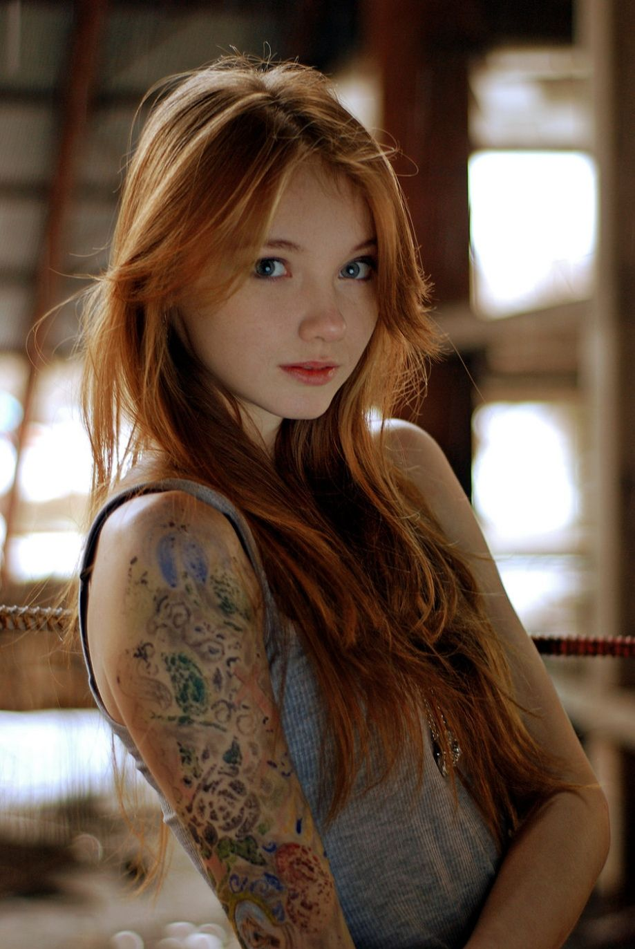 niedlicher blick redheads pinterest boobs naked and nude