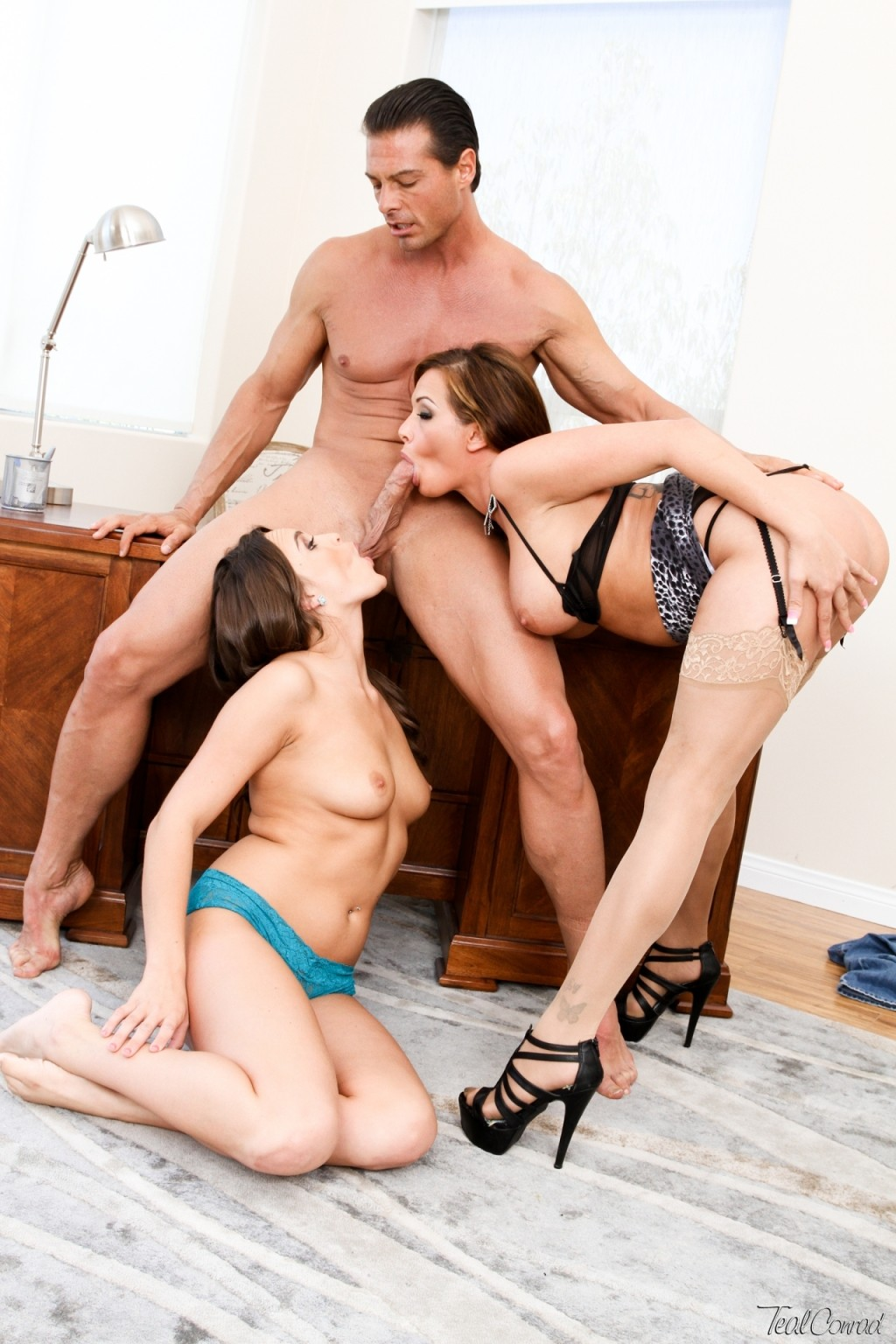 nipples teal conrad and tory lane hardcore threesome sex and cum sharing 1