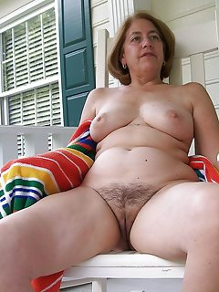 Blonde mature hard doggystyle