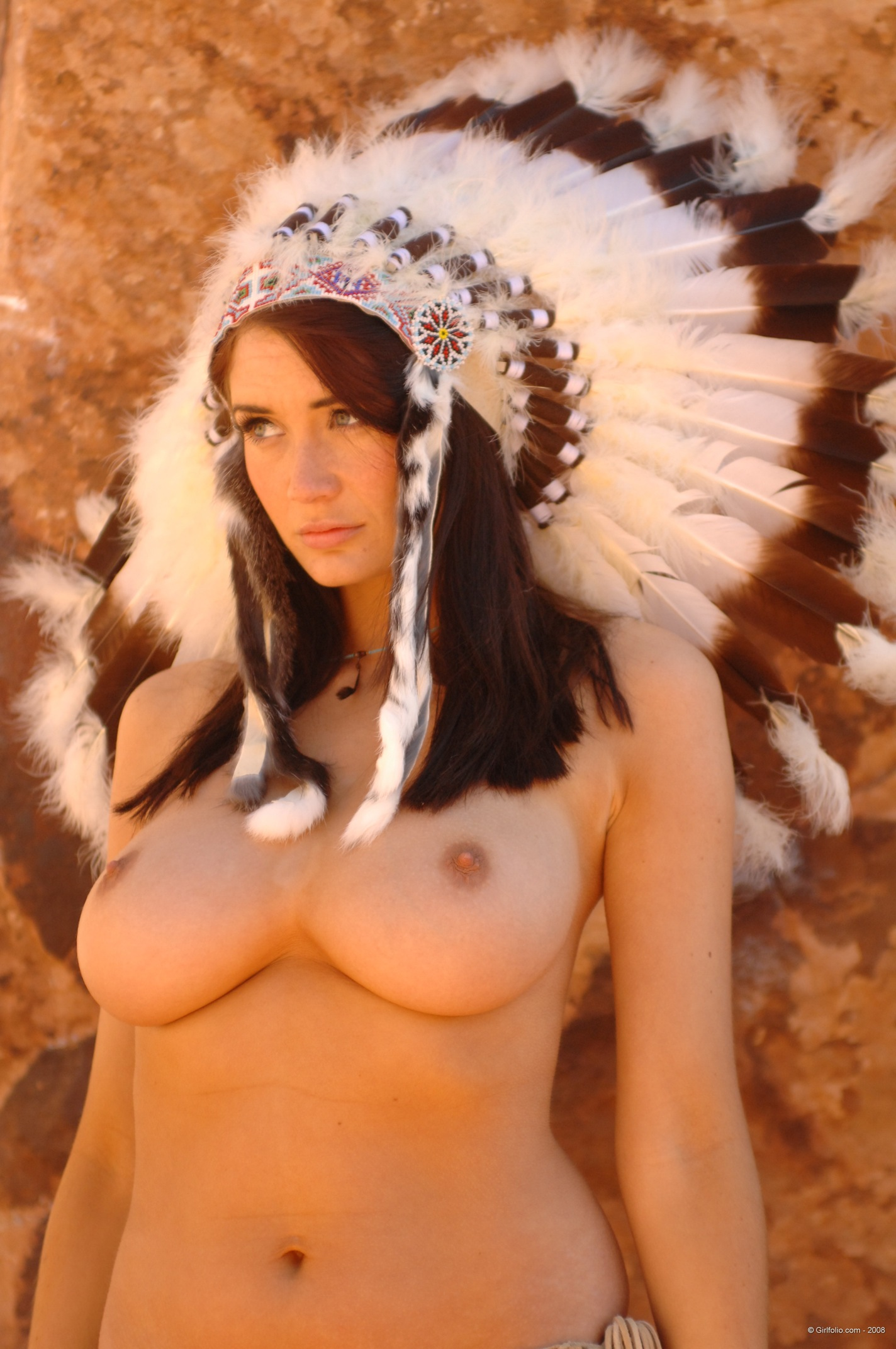 Can not native american porn think, that