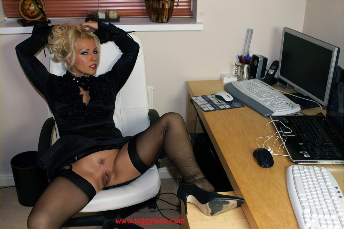 Office Amateur Porn office fuck busty secretary lana cox dildos in her office