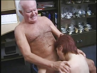 old man fuck young brunette girl porn tube video 2