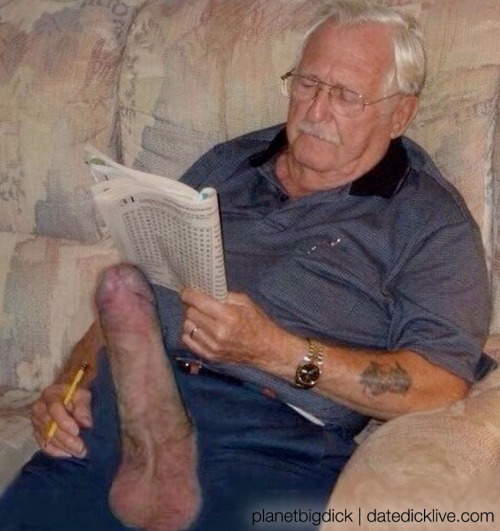 big cock grandpa Old