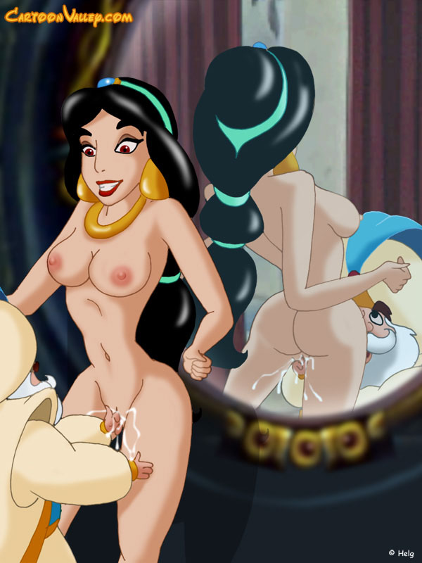 from aladdin naked Jasmine
