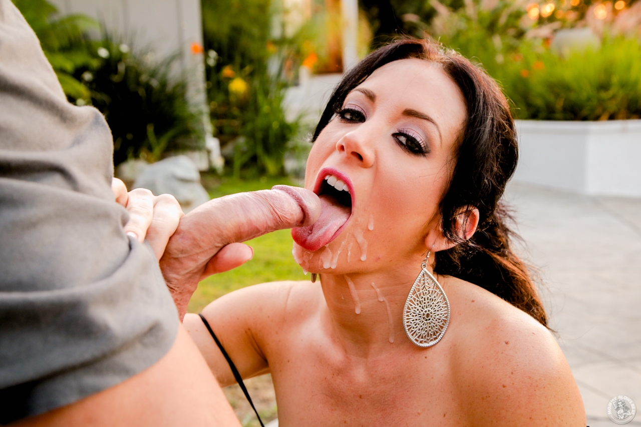 outdoor hot session with big and nude titted jayden jaymes doing intense blowjob
