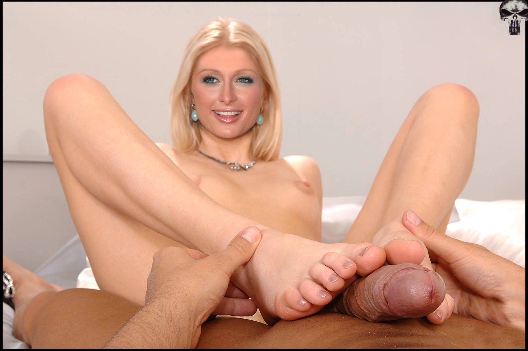 Fantasy)))) apologise, Paris hilton porn feet job