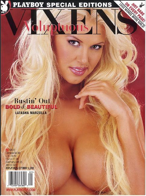 playboys voluptuous vixens september