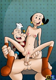 cartoon popeye porn and oyl Olive