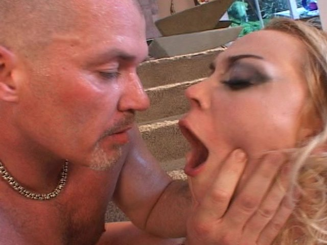 Babe with milf threesome