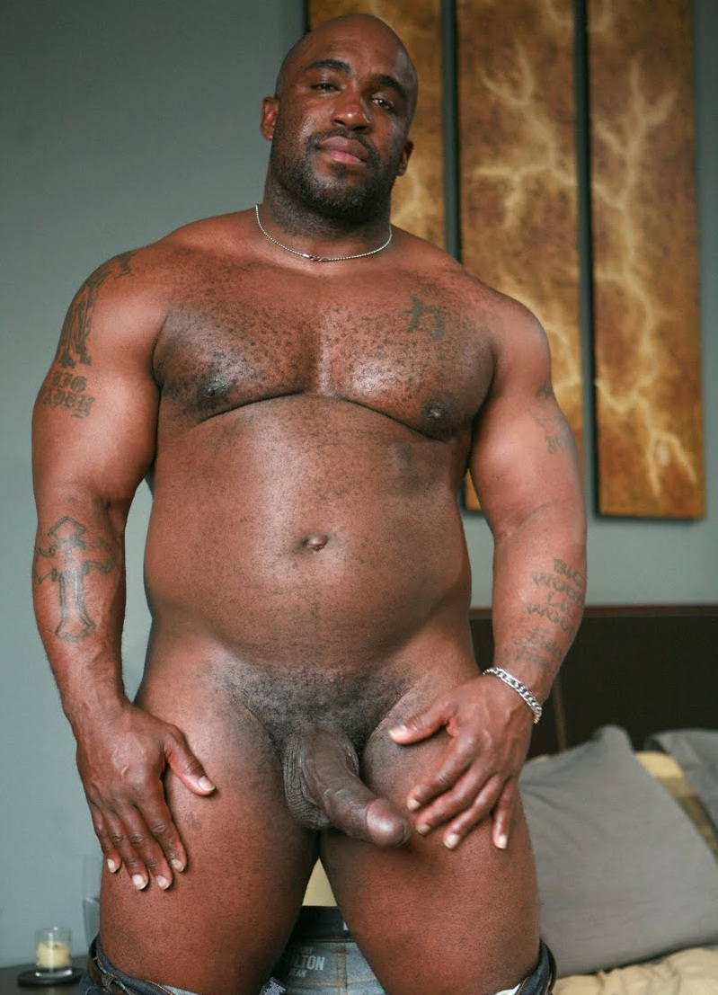 Big Black Dick Up Close