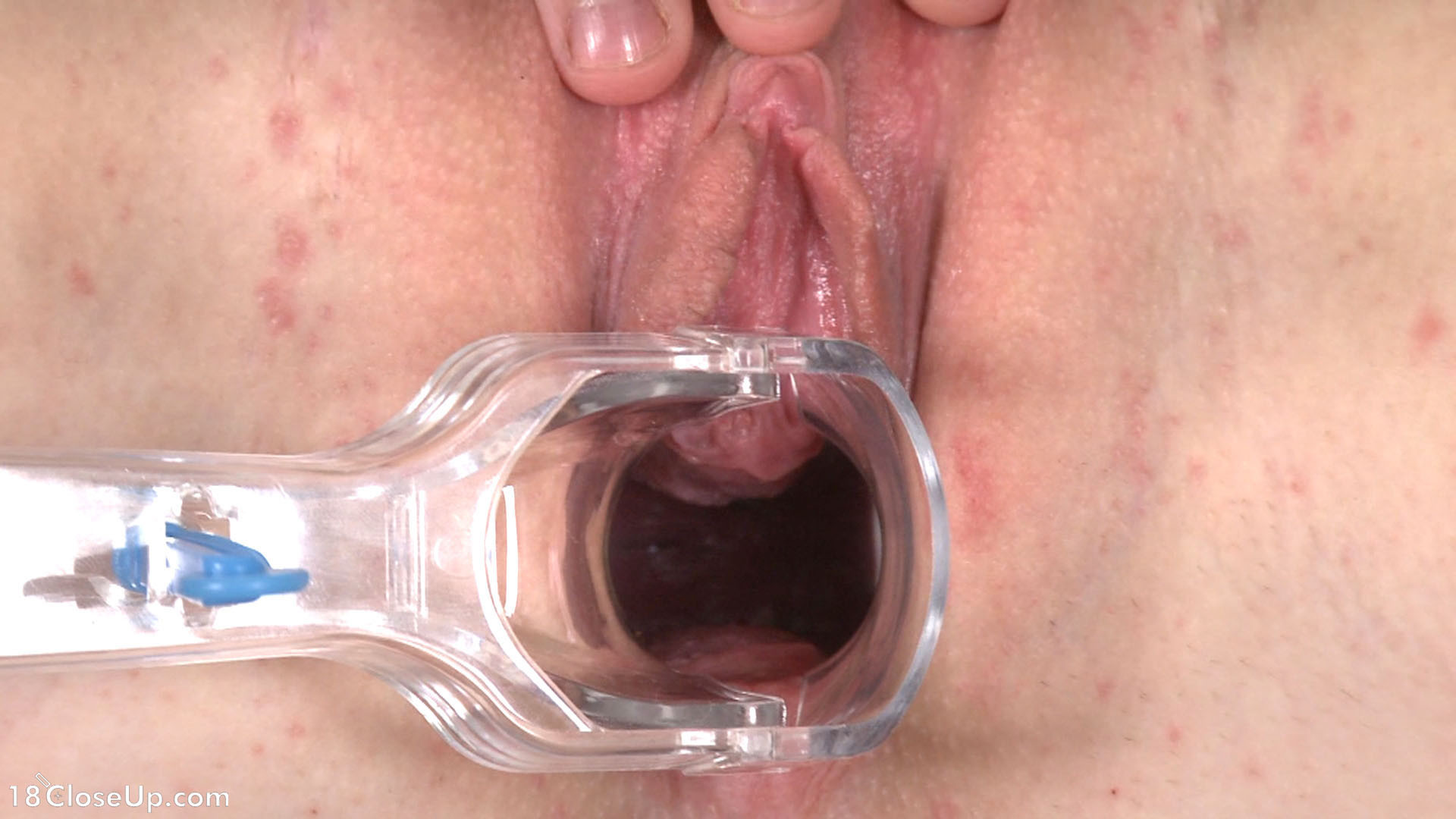 Inside pussy orgasm close up with