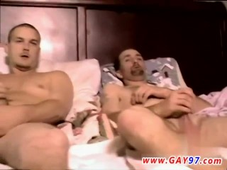 First gay sex cum in ass