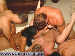 porn orgy real amateur couples fucking in big orgy dessert