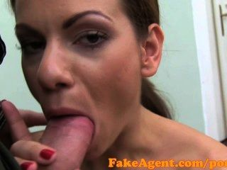 porn videos fakeagent flexible young girl in casting