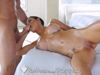 puremature perfect babe kendall karson is fucked on the massage table