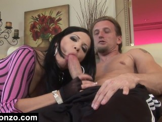 rebecca makes him cum twice 2