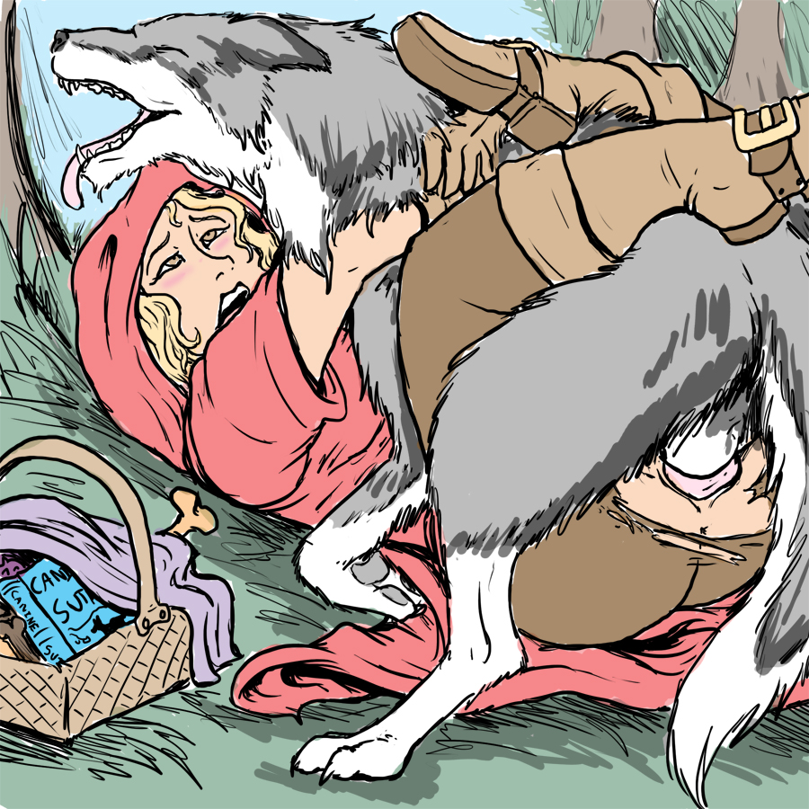 Remarkable, rather I draw porn red riding hood naked