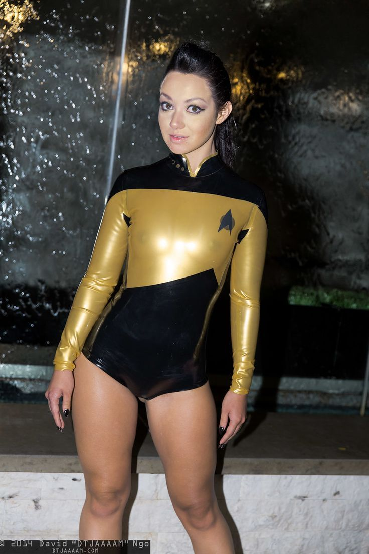 Opinion All girls on star trek nude