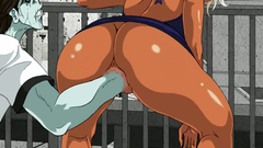 Two big ass female police officers get interracial fucked_pic11337