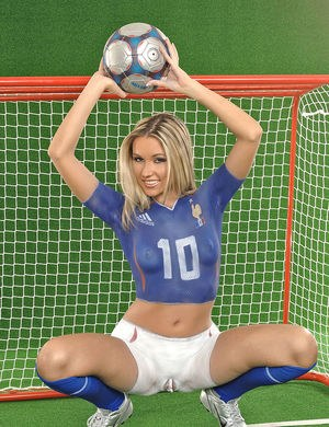 rough sports sex victorias workout hot female soccer player cherry jul models in skin tight shorts