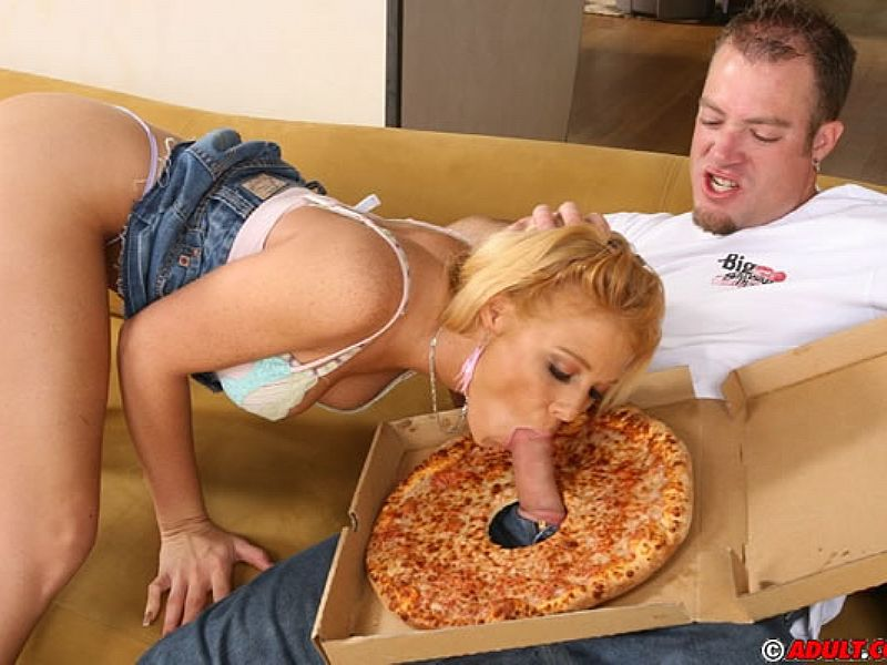 Idea Sausage pizza big cock teen you