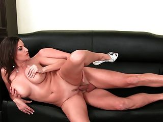 Big natural tits creampie compiliation