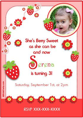 sew can do a strawberry shortcake birthday party thrifty style