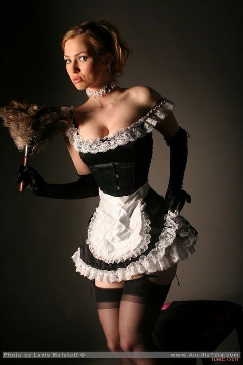 sexy french maid xxx