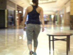 sexy sex bitch ponytail and spandex