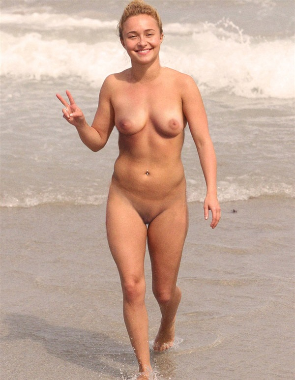 sexystars celebrities nude at the beach