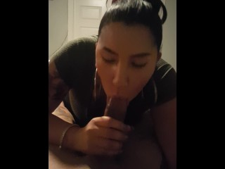 she loves sucking long hard dick pov sloppy amazing blowjob part 1