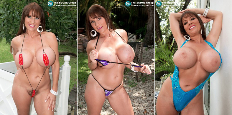 shelby gibson stacked in swimsuits boobglam