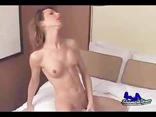 shemale cumshot compilation very beautiful shemales