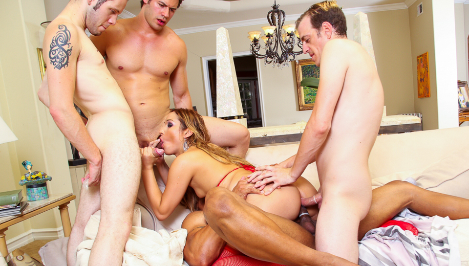 Shemale gang bang movie