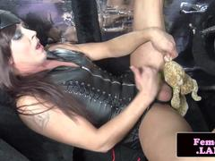 shemale leather tube love hot fetish tube sex free shemale