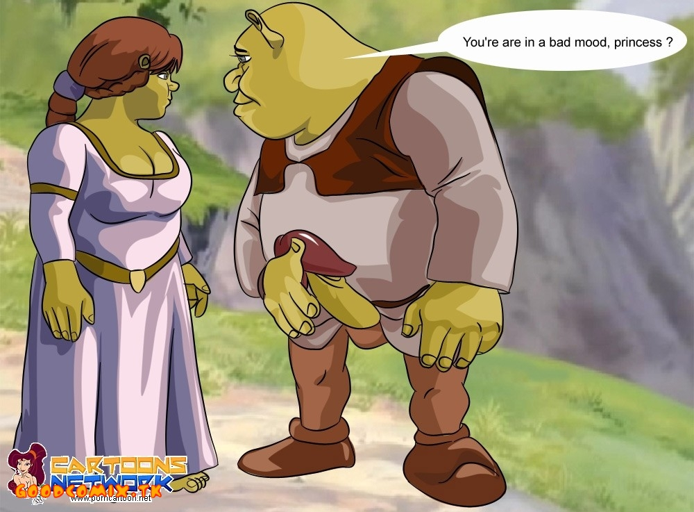 cartoon porn Shrek
