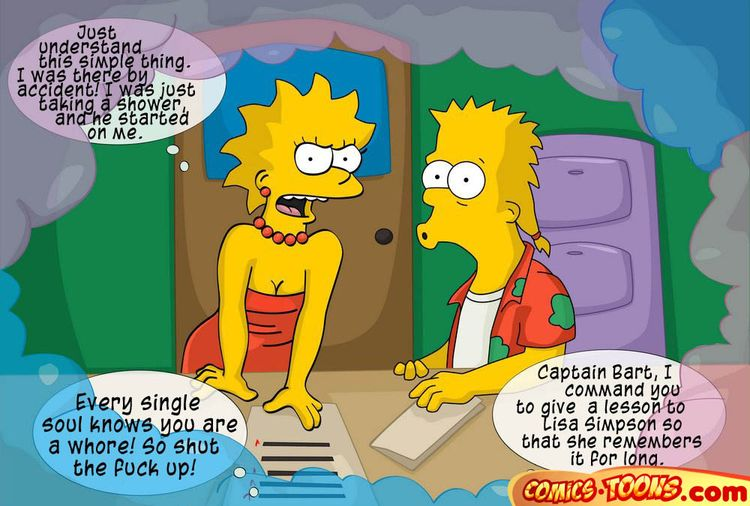 Bart having anal sex with lisa