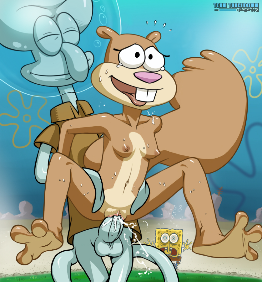 Are Spongebob and sandy have sex naked big boobs this