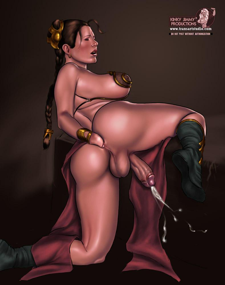 Princess leia hentai comic