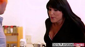 stepsister august ames gives aggressive blowjob to stepbrother 2