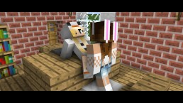 steve fills sexy minecraft girl up with hot cum in this minecraft 5