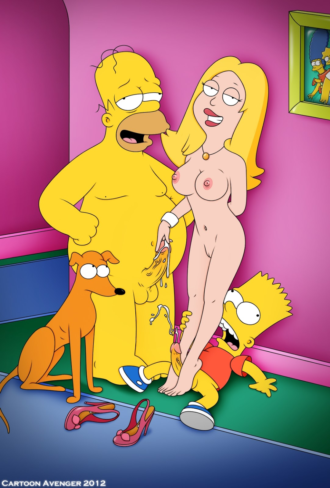 American dad nackt all became