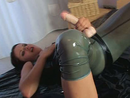 strapon cum solo hot lesbians fuck with ejaculating strapon