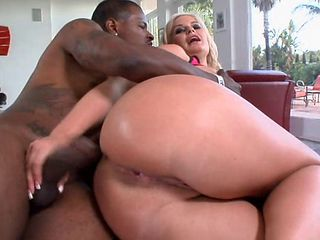 Mature black big booty anal sex