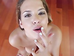 swallow Pov cum blowjob