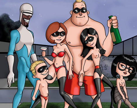 porn Disney the incredibles cartoon