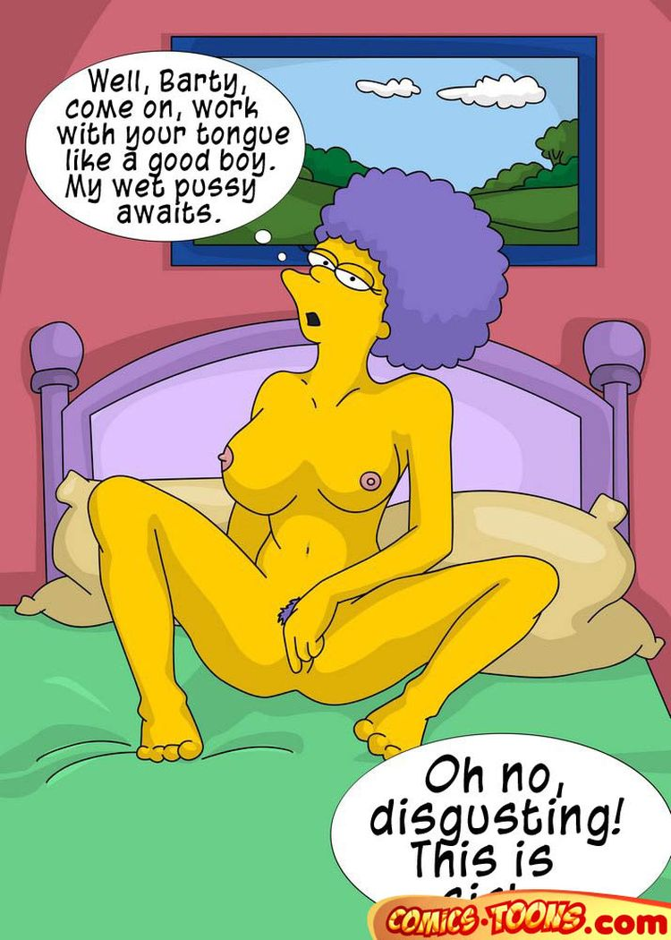 Simpsons pussy licking porn