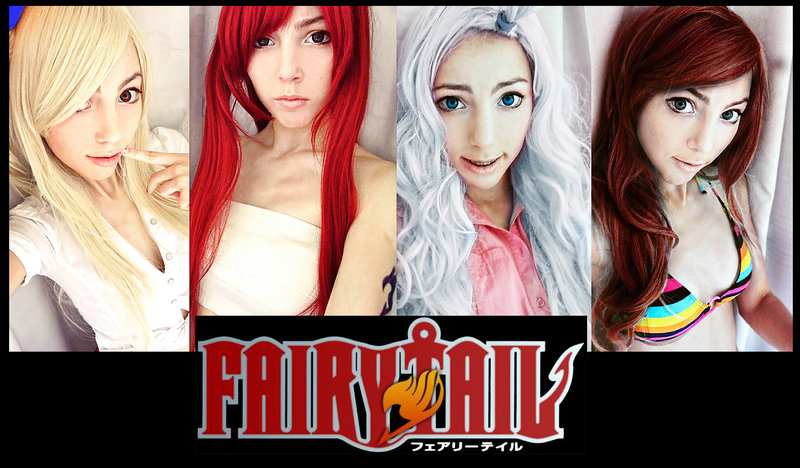 Fairy tail babes naked